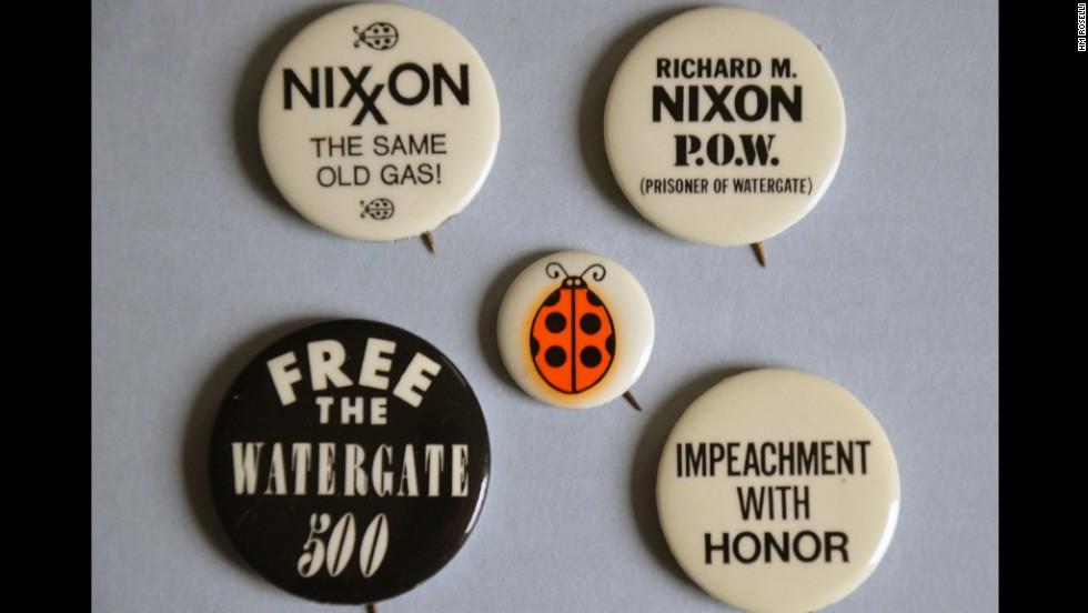"""Impeachment with honor"" is a riff on Nixon's goal of achieving ""peace with honor"" in Vietnam."