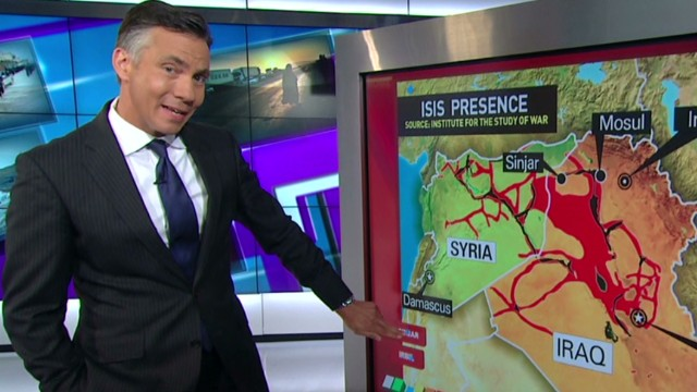 New round of U.S. airstrikes in Iraq