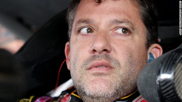 Why was Tony Stewart allowed to race?