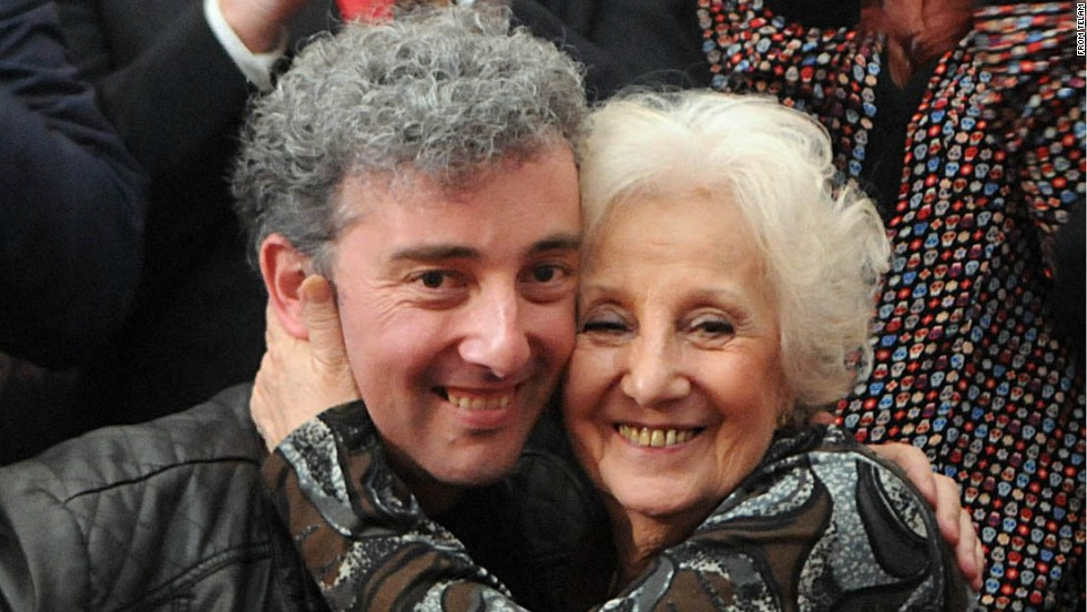 After 36 years, Argentine activist finds stolen grandson