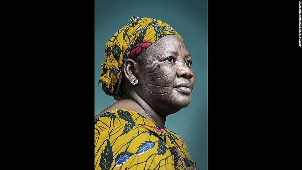 "<strong>Joana Choumali, The last generation</strong><br /><br />Joana Choumali was born in the Ivory Coast in 1974, at a time when scarifcation -- the practice of making decorative incisions on the skin -- was already on the decline in the region. Her portrait series, ""The last generation"", is one of the few contemporary explorations of the diminishing ritual."
