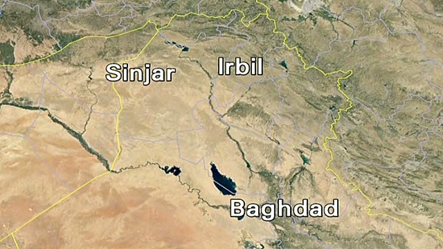 New rounds of airstrikes in Mt. Sinjar