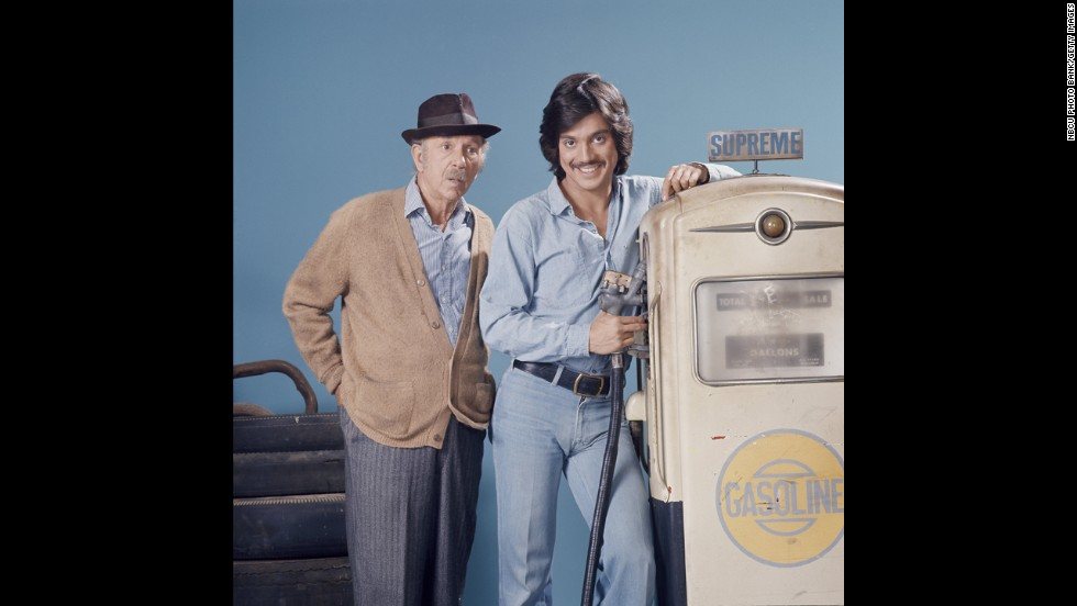 "Freddie Prinze was a comic extraordinaire, titular star of ""Chico and the Man"" (with Jack Albertson, left) and father of ""She's All That"" heartthrob Freddie Prinze, Jr. Reportedly depressed over the breakup of his marriage and addicted to Quaaludes, Prinze shot himself in the head in 1977. He was just 22 years old. Originally, Prinze's death was ruled a suicide, but was later designated an accident in a civil case."