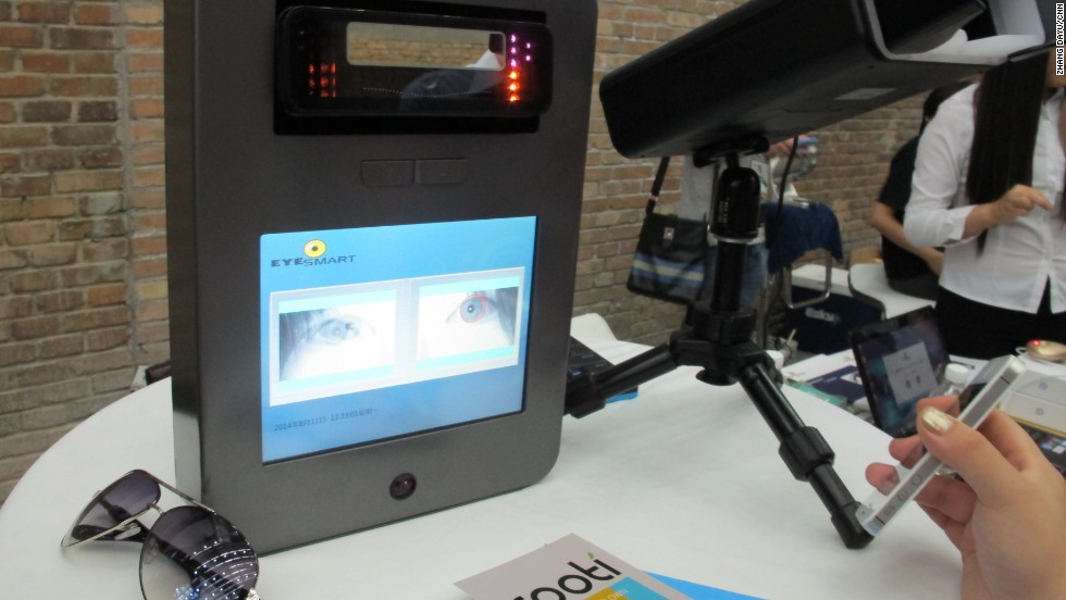 With its iris recognition system, Beijing-based company EyeSmart aims to help companies keep their businesses secure.