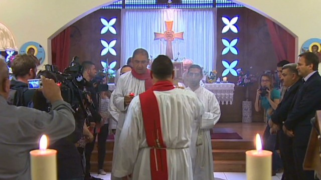 Iraqi Christians flee to France