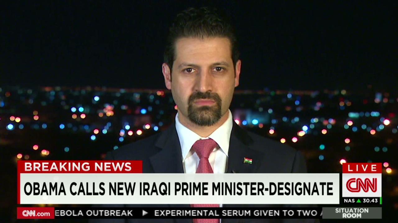 Wolf Blitzer Talks To Qubad Talabani   CNN Video