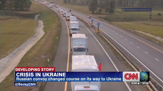 Ukraine turns back Russian convoy