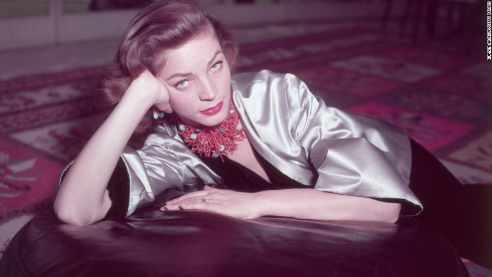 Lauren Bacall, 89 (died August 12, 2014)
