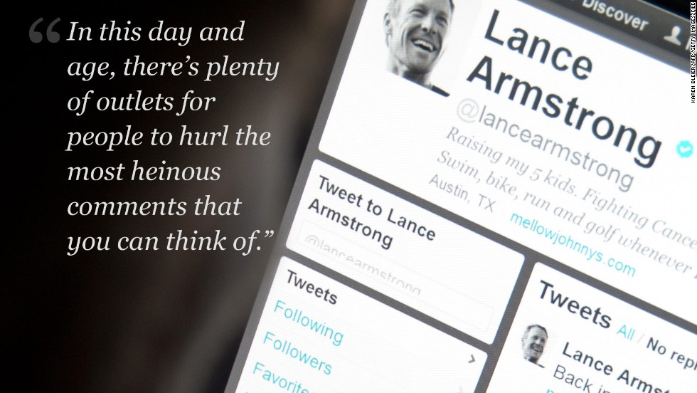 Armstrong on criticism