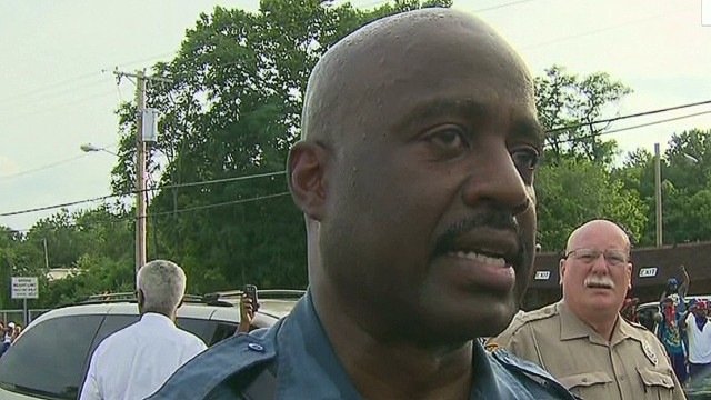 Capt. Johnson: Ferguson is 'my community'