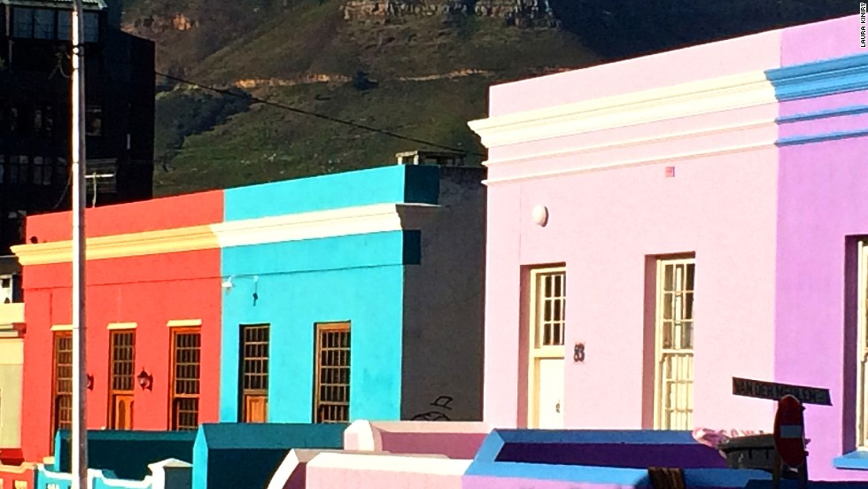 The Bo-Kaap area of Cape Town, South Africa, is best known for its history and colored homes painted from lime green to bright pink. VoiceMap provides tours of areas such as this from a local's perspective. The aim is to give visitors a more genuine glimpse of the area.