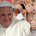 pope thumbs up