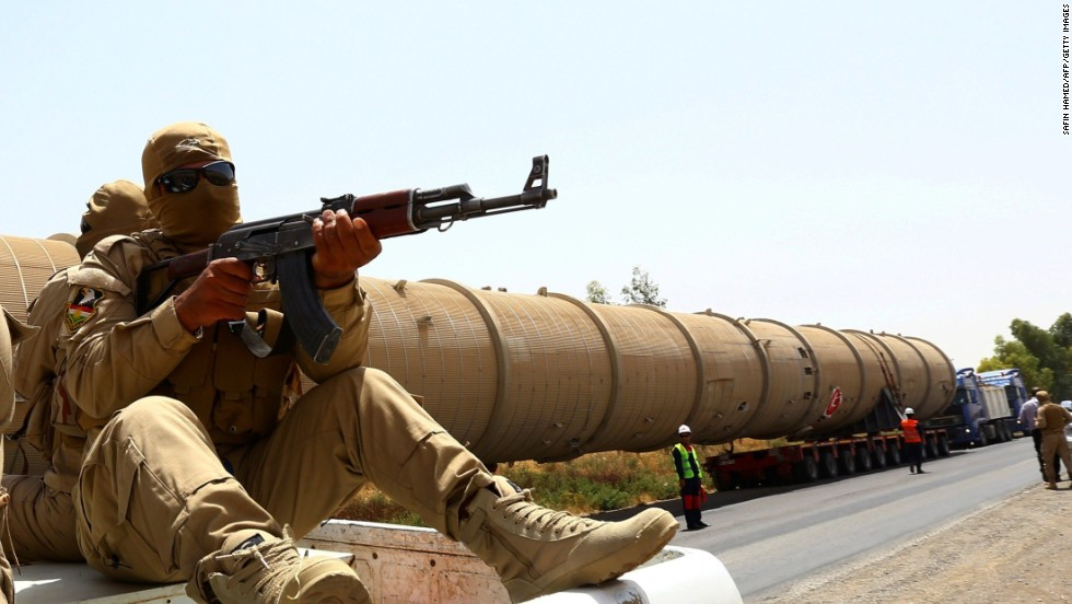 How Iraq's black market in oil funds ISIS