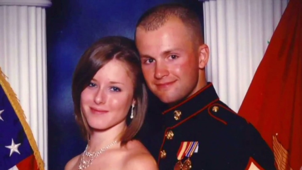Murder charges filed in case of missing Marine's wife