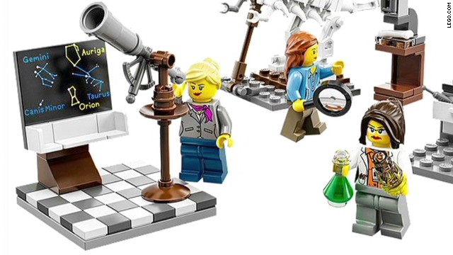 LEGO's all-female scientist toy set