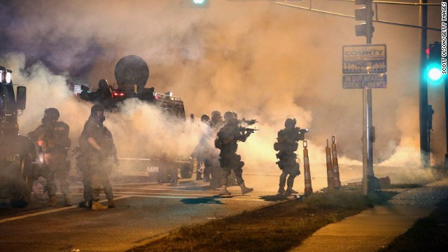 How Ferguson exploded into a national movement