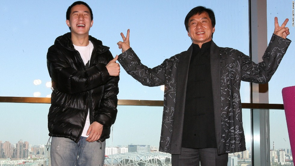 Jackie Chan's son charged for drug offense in China