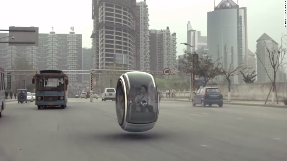 "The (obviously) computer generated vehicle showed how magnetic levitation technology could one day lead to hover cars. Rivals Toyota agree, saying they would <a href=""http://mashable.com/2014/06/10/toyota-hover-car/"" target=""_blank"">may build a hover car</a>."