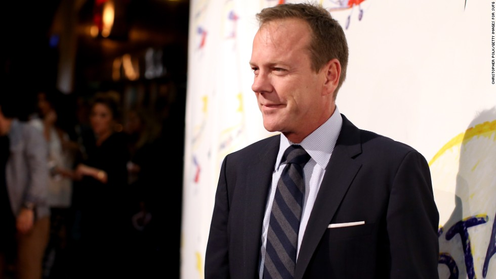 "Kiefer Sutherland was only 39 when his stepdaughter, Michelle Kath, made him a grandpa in 2005. He <a href=""http://www.contactmusic.com/news-article/sutherland-thrilled-to-be-grandfather_20_04_2006"" target=""_blank"">said</a> he had raised Kath ""since she was 8, and she is now 29. She got married two years ago and had a baby nine months after the wedding."""
