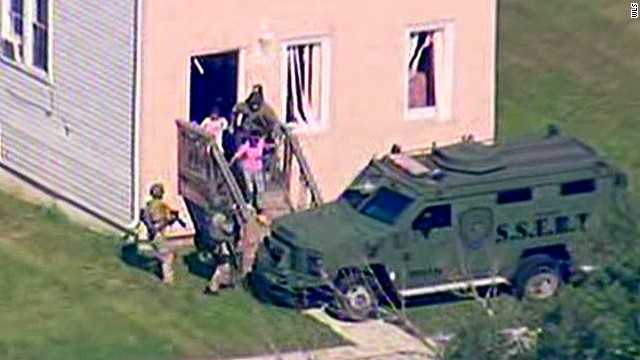 Hostages rescued in Illinois standoff