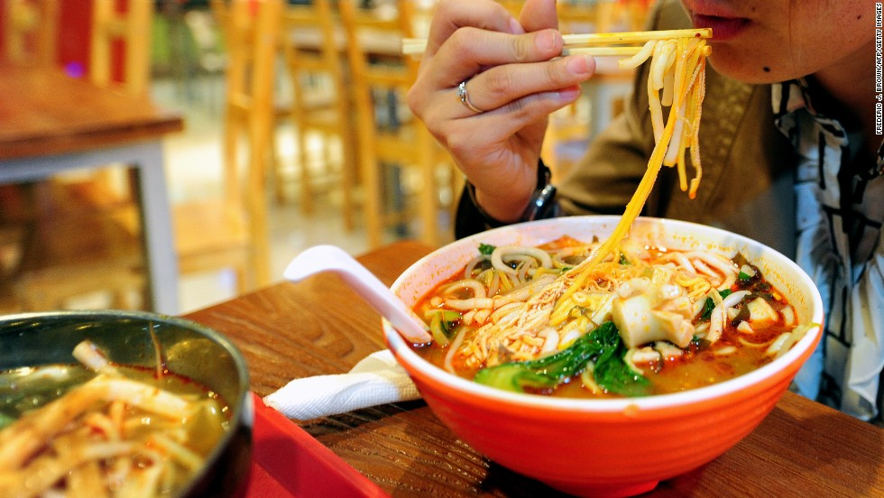 Tasty or addictive? Chinese restaurant serves noodles laced with opium poppy