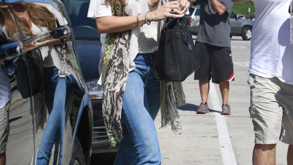 Sofia Vergara is all smiles after enjoying lunch in West Hollywood, California on August 18.