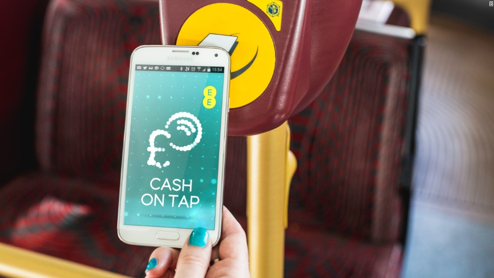 Does your phone double up as a travel card? Digital communications company EE announced in 2014 that customers can use their mobile devices to travel on London bus routes.