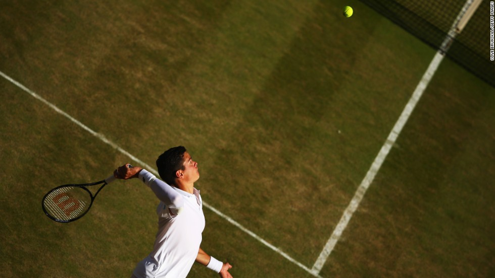 Backed by the serve, Raonic made it to his first grand slam quarterfinal at the French Open before going one step further at Wimbledon. Raonic was beaten at the semifinal stage by 17-time grand slam champion Roger Federer.