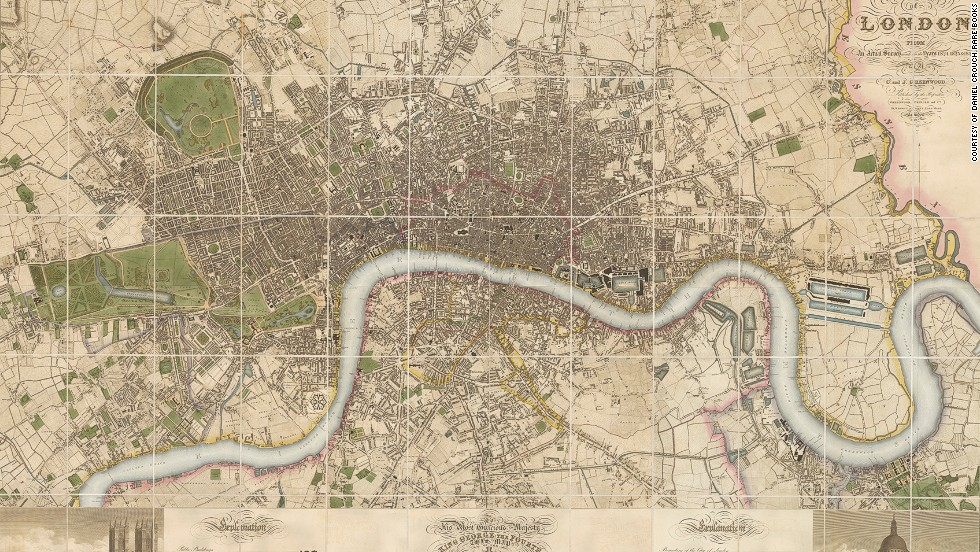 9 Maps That Reveal London's Secret History From Shakespeare Till: 18th Century London Map At Infoasik.co