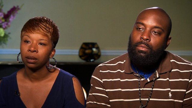 Michael Brown's parents meet with Holder
