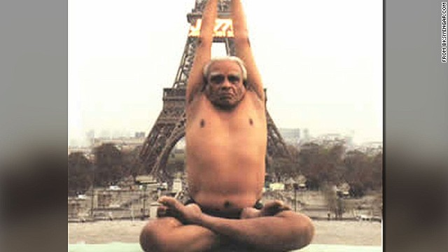 Father of modern yoga dies