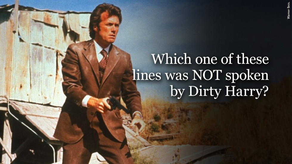 dirty harry question