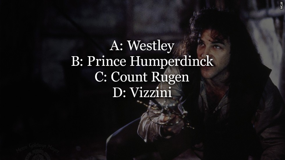 princess bride options