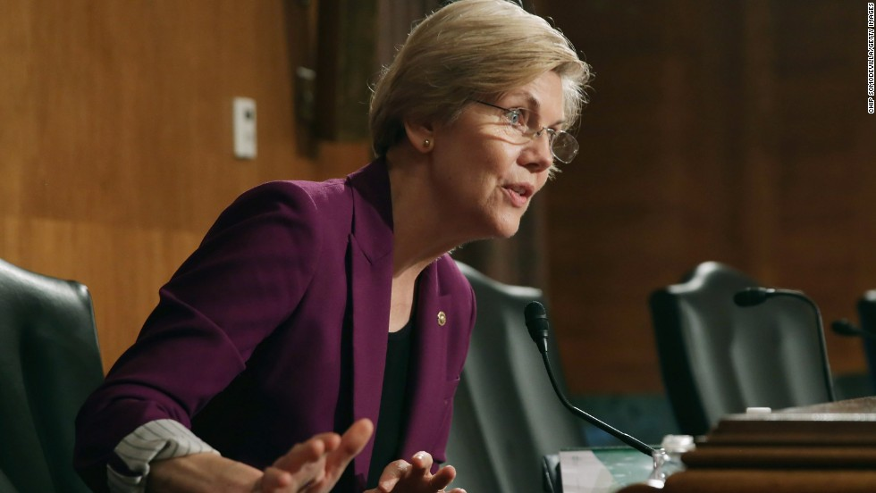 """Elizabeth Warren: Dems must """"stand up and fight"""""""