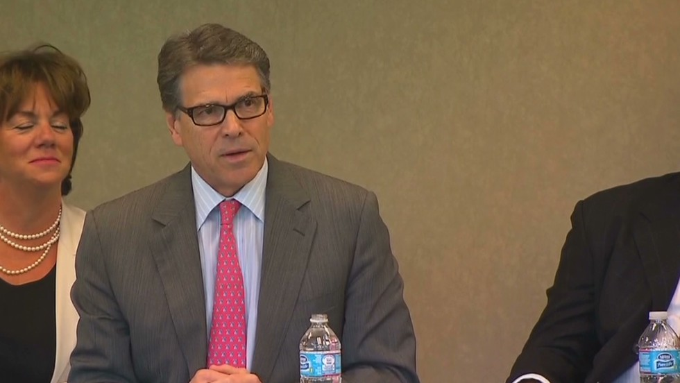 Gov. Perry weighs in on indictment case
