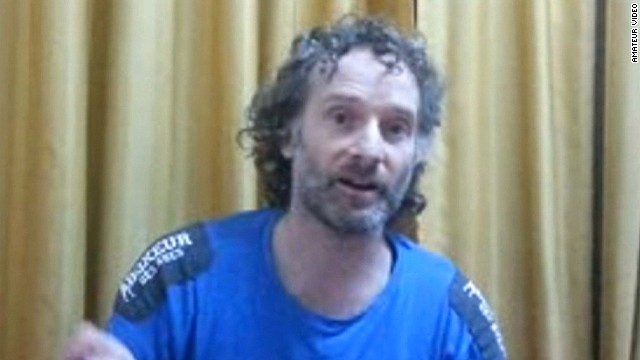 American hostage released in Syria
