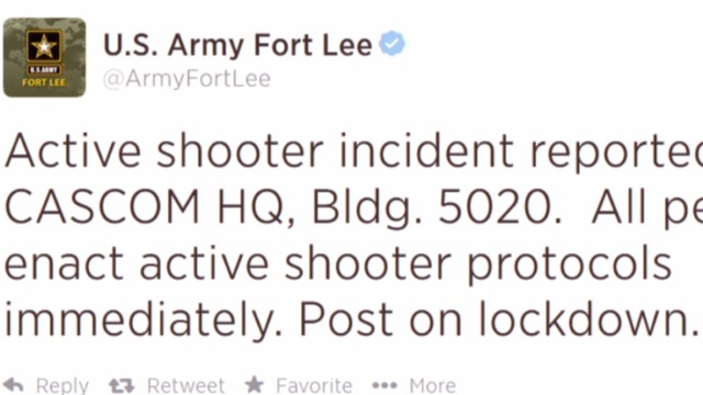 'All clear' given at Fort Lee