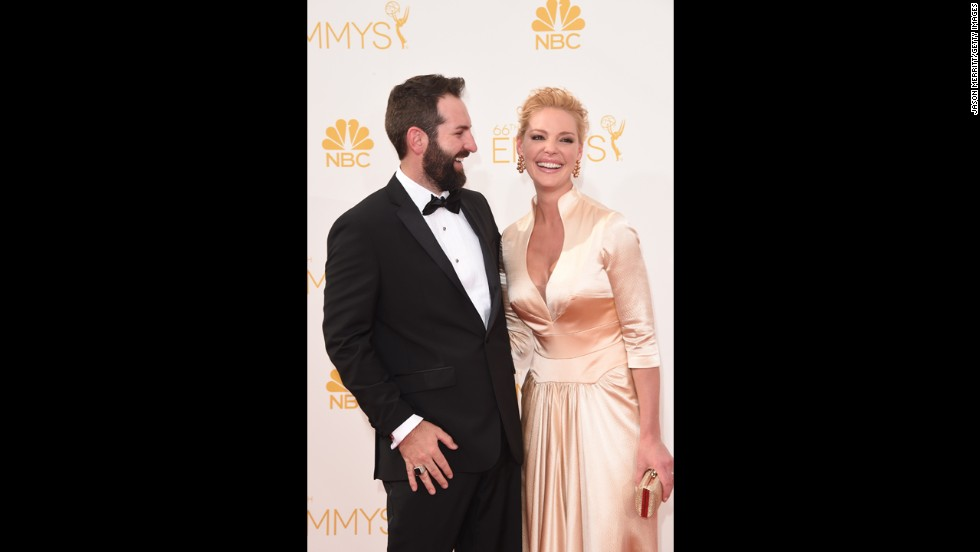 "Katherine Heigl and Josh Kelley (Heigl, ""State of Affairs"")"