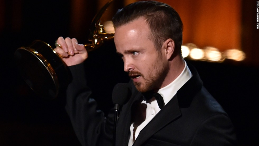 "Outstanding Supporting Actor in a Drama Series: Aaron Paul, ""Breaking Bad"""