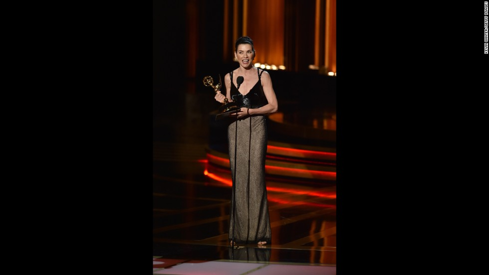 "Outstanding Lead Actress in a Drama Series: Julianna Margulies, ""The Good Wife"""