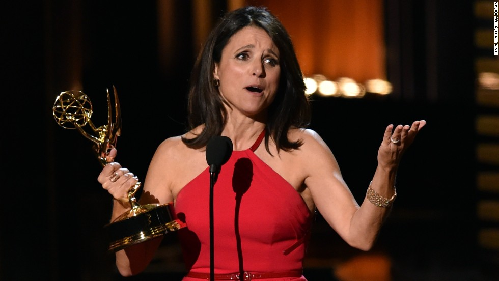 "Outstanding Lead Actress in a Comedy Series: Julia Louis-Dreyfus, ""Veep"""