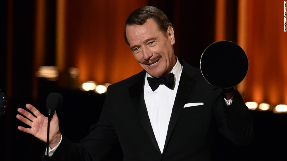 "Outstanding Lead Actor in a Drama Series: Bryan Cranston, ""Breaking Bad"""