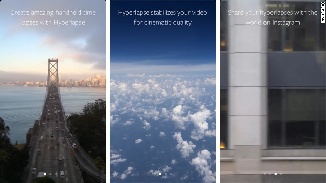The new Hyperlapse app from Instagram captures time-lapse videos on the iPhone.