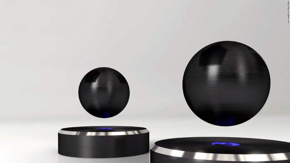 "California company <a href=""http://www.omone.com/om-one"" target=""_blank"">Om/One</a> is also entering the world of floating interior design -- creating the world's first floating speaker."