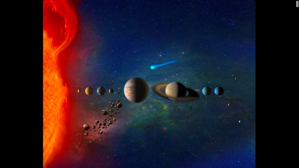 Scientists: Solar system inside a searing gas bubble