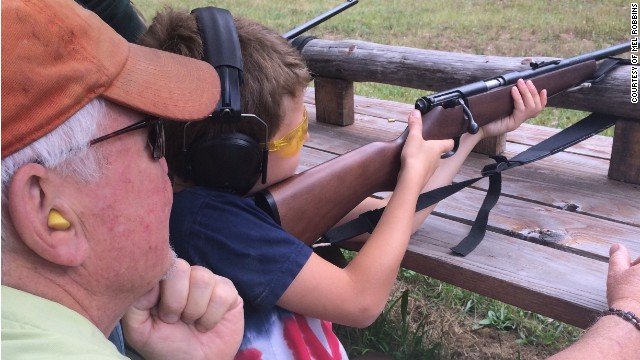A child firing a weapon needs safety provisions in place, says Mel Robbins