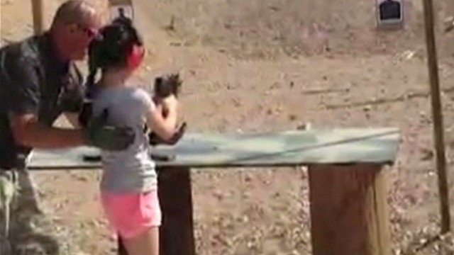 9-year-old kills instructor with Uzi
