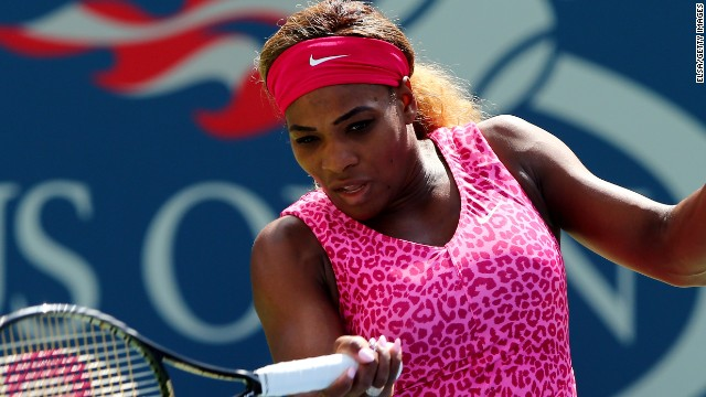 Serena Williams only lost one game at the U.S. Open on Thursday against Vania King.