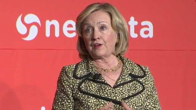 Hillary Clinton comments on Ferguson