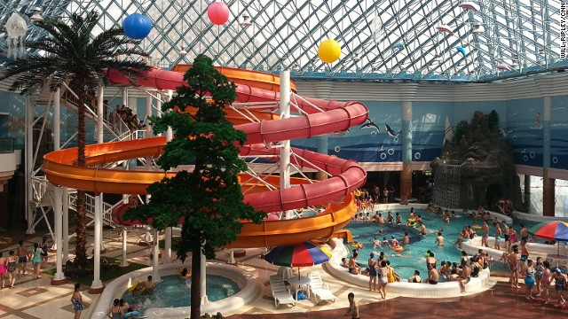 The Munsu Water Park in Pyongyang is a pet project of Kim Jong Un.